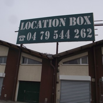 Palbe location de box à Voglans